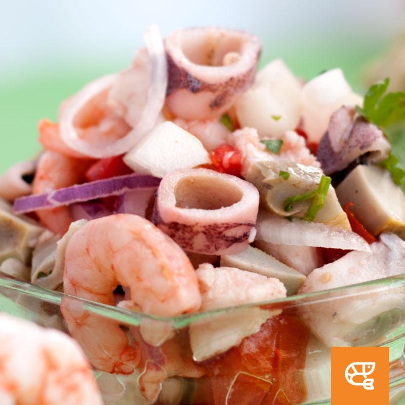 Ceviche Frutos del mar Pavichi